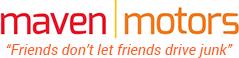 Maven Motors auto body shop logo